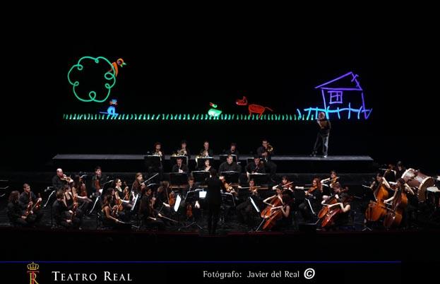 Teatro musical Pedro y el lobo