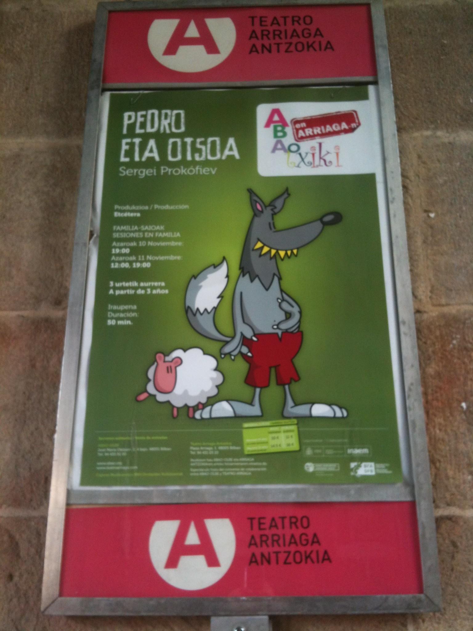 discreto amigo espectáculo de juguete cerca de Bilbao