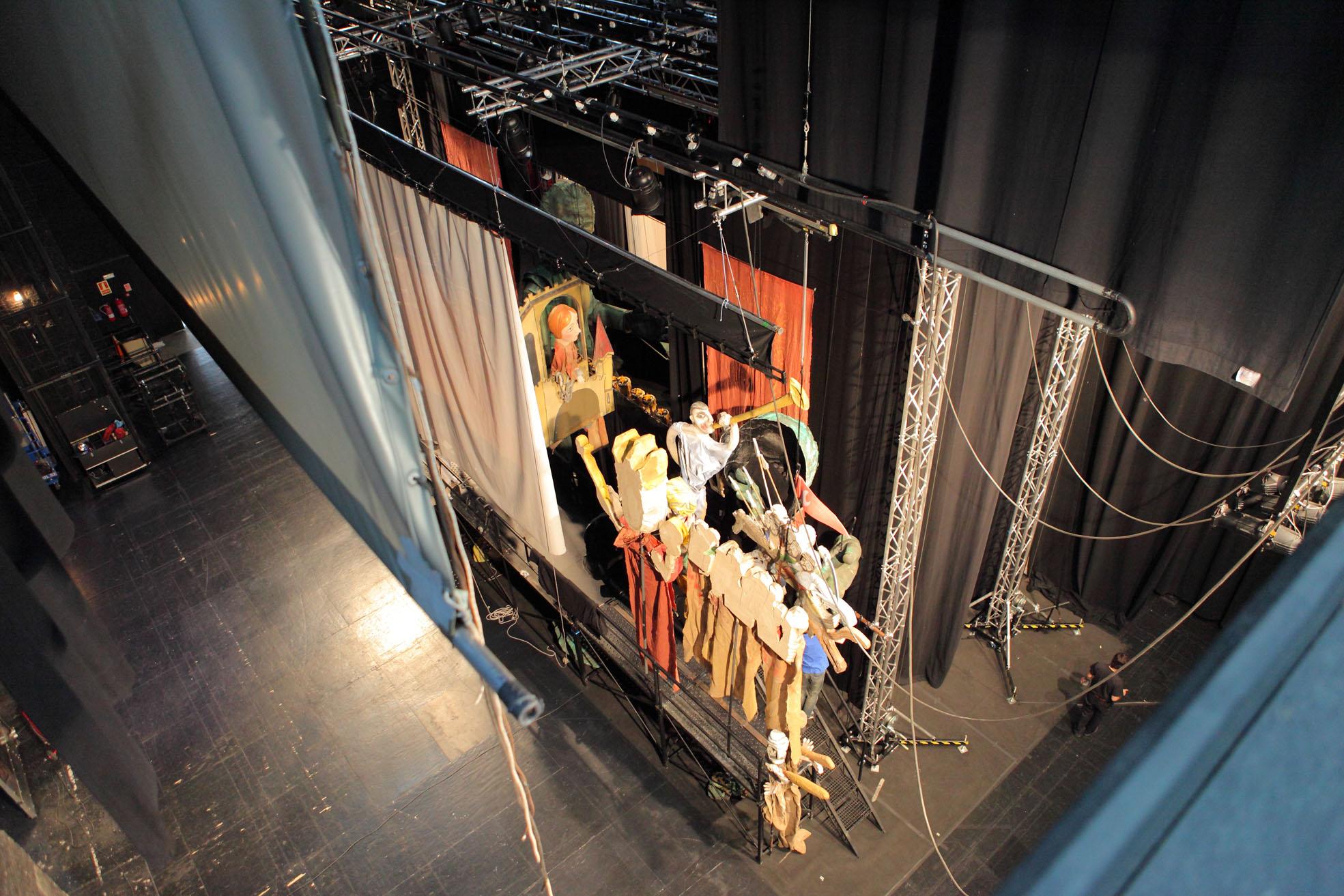 -3 días para El retablo de maese Pedro en Granada