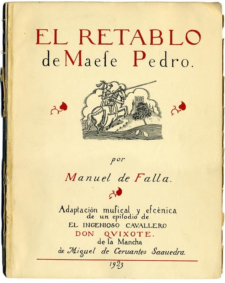 -4 días para El retablo de maese Pedro en Granada