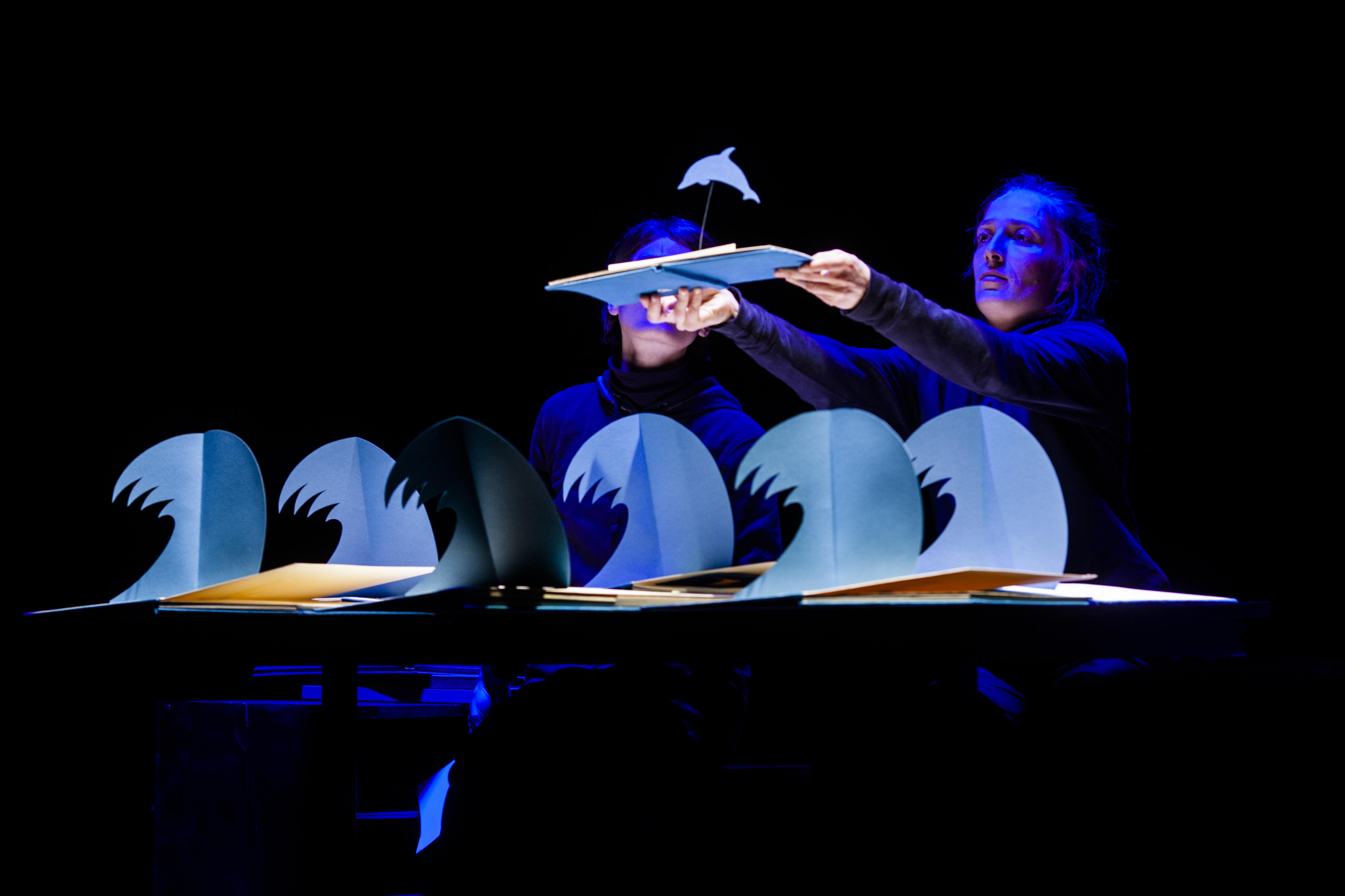 Teatro delle Briciolle. Pop up, un fósil de dibujo animado