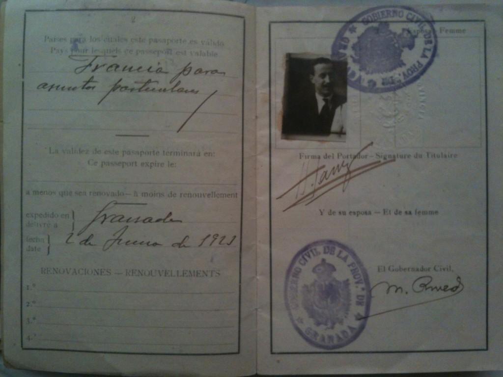 Pasaporte H. Lanz